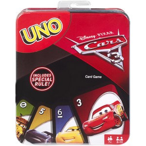 Disney Pixar Cars Uno Card Game Tin Picture